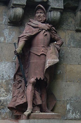 Simon of Utrecht - The restored statue in Hamburg (2012)