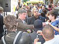 Simpsons 500th Episode Marathon - producer Al Jean signs for fans (6950947883).jpg