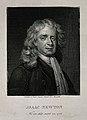 Sir Isaac Newton. Line engraving by A. M. Monsaldi after E. Wellcome V0004274.jpg