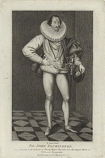 John Pakington (died 1625) English noble