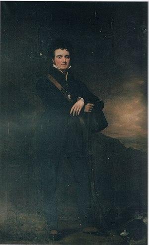 Threipland baronets - Image: Sir Patrick Murray Threipland, 5th Baronet (1800 1882), attributed to Sir John Watson Gordon, P.R.S.A. (95 x 60 inches)
