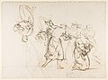 Sketch for the Judgment of Solomon (?); verso- Dancing Mythological Figures MET DP814120.jpg
