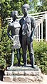 Skulptur Forckenbeckplatz (Frhai) Junge Sozialisten&Erwin Damerow&1970.jpg
