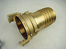 Brass Guillemin coupling