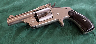 Smith & Wesson 38 Single Action Second Model Revolver - Image: Smith & Wesson .38 Single Action 2nd Model