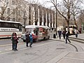 Snack van, British Museum north entrance - geograph.org.uk - 699189.jpg