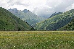 Sno river valley, Caucasian mountains, Georgia.jpg