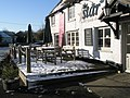 Snow covered tables outside The Star - geograph.org.uk - 1625774.jpg