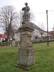 Socha svatého Vavřince