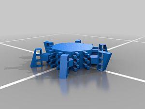 Socolar–Taylor tile - Image: Socolar Taylor 3D monotile