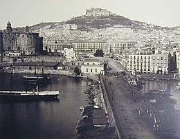 Il Vomero in una foto di Giorgio Sommer del 1860-70 circa