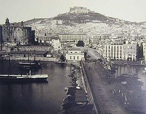 Port of Naples - The port between 1834 - 1891