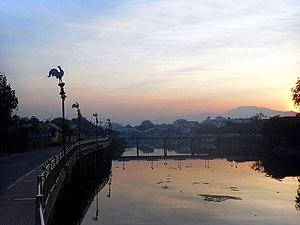 Wang River - Wang River in Lampang town