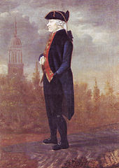 Der Hamburger Architekt Ernst Georg Sonnin, posthum porträtiert (Johann Marcus David, 1802) (Quelle: Wikimedia)