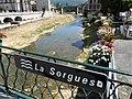 Sorgues Saint-Affrique pont RD 999 panneau.jpg