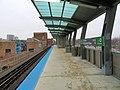 South end of platform at at Cermak-McCormick Place station, December 2018.JPG