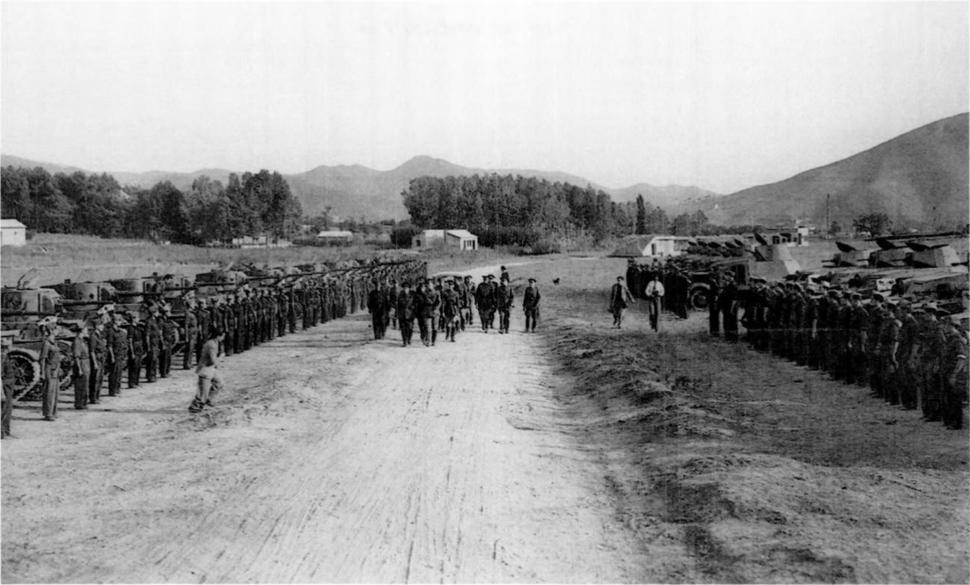 Soviet armor in the spanish civil war