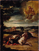 Spanish - St Anthony of Padua appearing to a Knight - Google Art Project.jpg