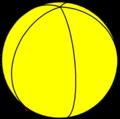 Spherical pentagonal hosohedron.png