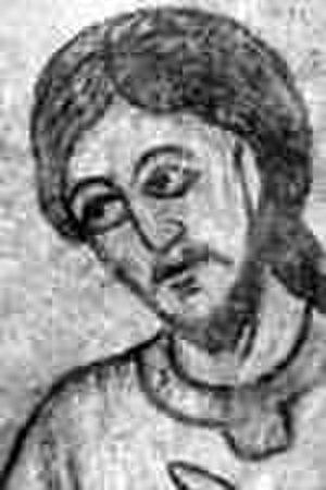 Spytihněv I, Duke of Bohemia - Fresco, Rotunda of St Catherine, Znojmo