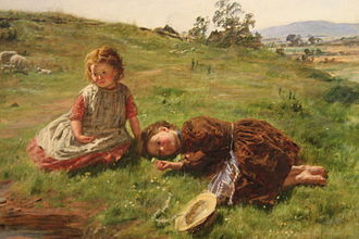 William McTaggart - Spring by William McTaggart, 1864