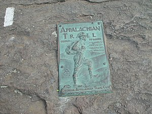 Georgia Appalachian Trail Club - Image: Springer Mountain Marker