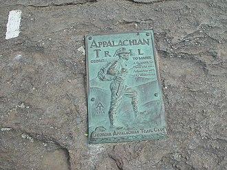 Georgia Appalachian Trail Club - Image: Springer Mountain Marker