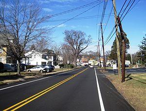 Burlington Township, New Jersey - The Springside neighborhood in Burlington Township