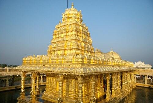 Sripuram Temple Full View