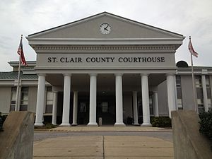 St. Clair County, Alabama - Image: St. Clair County Courthouse in Pell City, Alabama