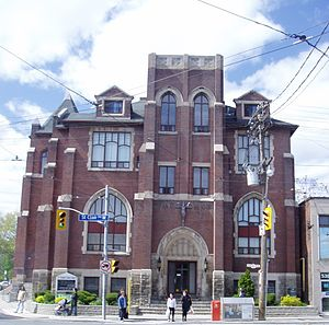 Vaughan Road - Constructed in 1911, St. Alphonsus Roman Catholic Church is a landmark near Vaughan Road