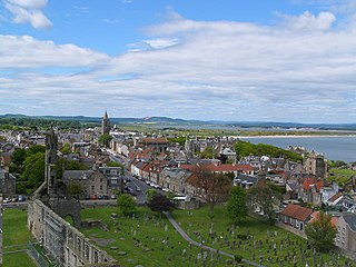 St Andrews Town in Fife, Scotland