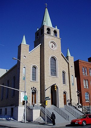 Little Italy, Ottawa - Image: St Anthony's Roman Catholic church Ottawa