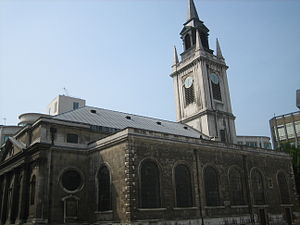 Cheap (ward) - St Lawrence Jewry in Gresham Street