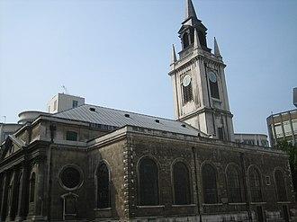 Cheap (ward) - St Lawrence Jewry in Gresham Street