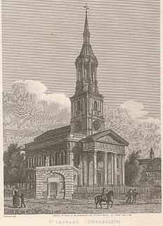 St Leonards, Shoreditch Church in London Borough of Hackney, United Kingdom