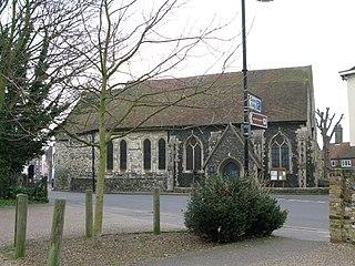 St Marys Church, Sandwich Church in Kent, England