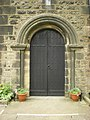 St Mary the Virgin, Oxenhope, Doorway - geograph.org.uk - 1654653.jpg