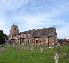 St Nicholas Church at Dersingham - geograph.org.uk - 262342.jpg