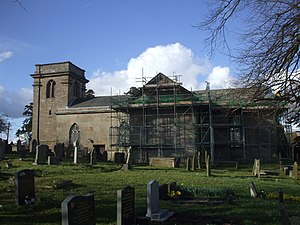 Grade I listed churches in Shropshire - Image: St Peter's Church, Adderley geograph.org.uk 1785021
