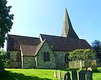 St Peter's Church, Ash Church Road, Ash (May 2014) (2).jpg