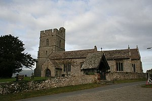 St Stephen's Church, Old Radnor - Image: St Stephen's Church geograph.org.uk 1554487