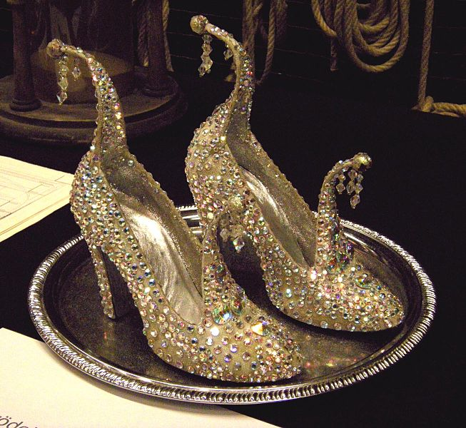 Expensive Blue Wedding Shoes
