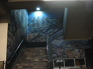 Metro Tacubaya - Image: Stairway Mural 1Metro Tacubaya