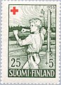 Stamp of Finland - 1955 - Colnect 46215 - The Soldiers Son.jpeg