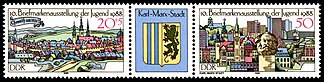 Stamps of Germany (DDR) 1988, MiNr Zusammendruck 3174, 3176.jpg