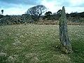 Standing stone at Achadh Chaorann - geograph.org.uk - 145495.jpg