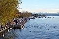 Standort des sogenannten 'Kleiner Hafner' im unteren Zürichseebecken (prähistorische Seeufersiedlungen) am Utoquai in Zürich 2012-10-18 17-30-16.JPG