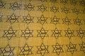 "Star of David Judenstern ""Jood"" Cloth for making antisemitic yellow star badges. Jewish Museum of Amsterdam 2017.jpg"