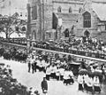 StateLibQld 1 116944 Funeral procession of Archbishop Robert Dunne, Brisbane, 1917.jpg